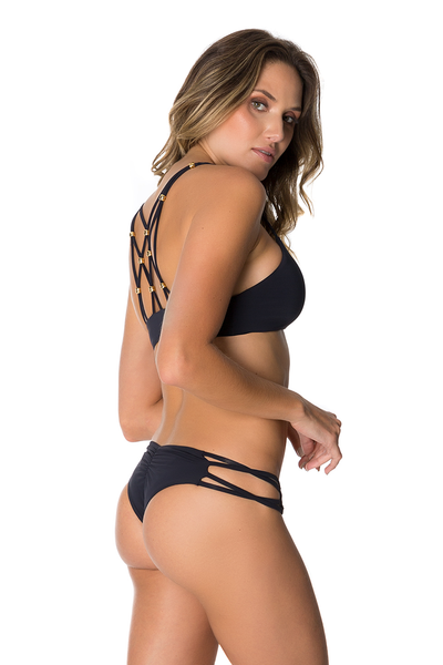 Mau Loa Bottom in Black