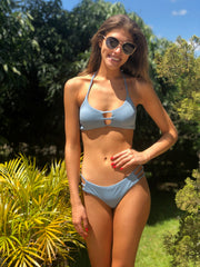 Dusty Blue  Luna Top