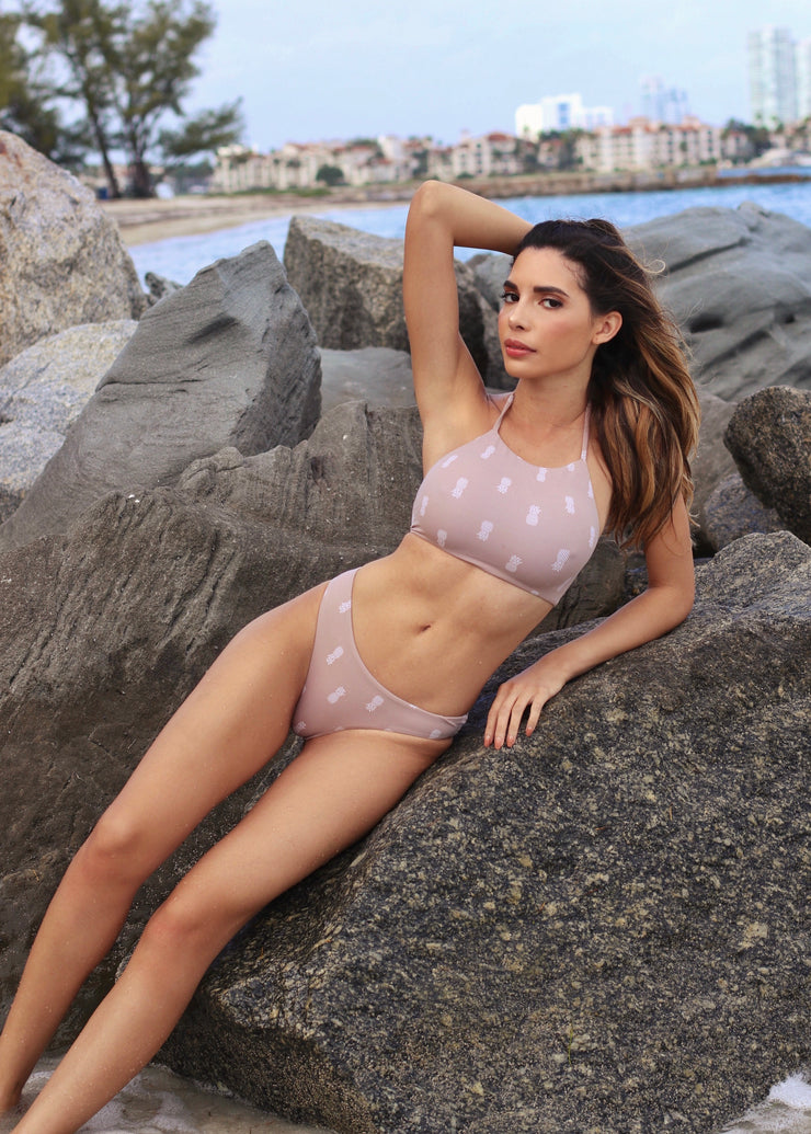 Nude Pineapple Ipanema Top & Beleza Bottom Jasmine Tosh