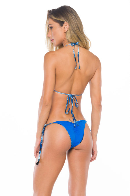 Cali Bikini in Dusty Blue