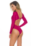 Juliane sangria One piece Swimsuit