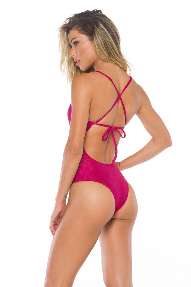 Isabelli Sangria One piece Swimsuit