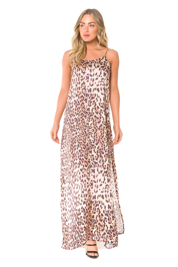 Leopard Long Dress