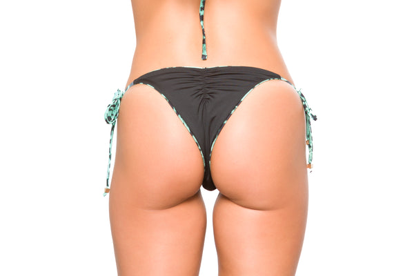 Brazilian Bikini Bottom Leopard Green Summer 2020 Anna