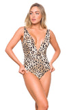 Chanel Leopard One piece Swimsuit Summer 2020
