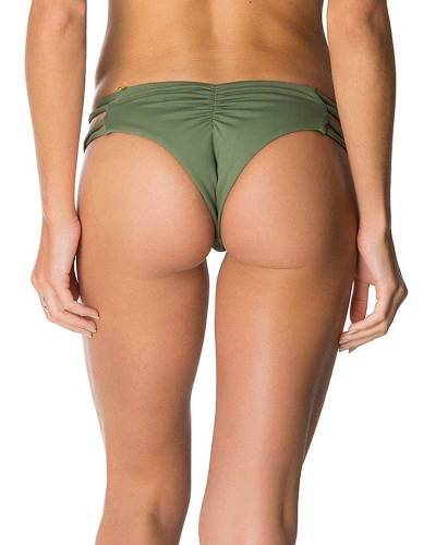 Mairin Bottom in Olive Green