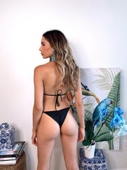 Black Samba Top and Vida bottom Jasmine Tosh