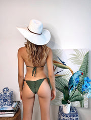 Olive  Samba Top and Vida bottom Jasmine Tosh