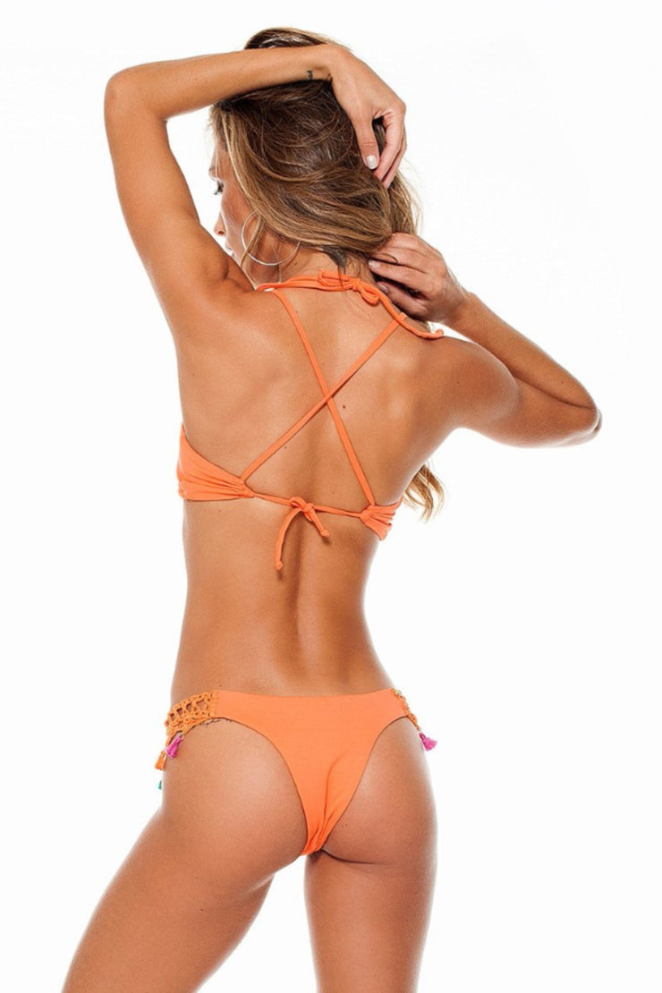 Orange Nikki Top