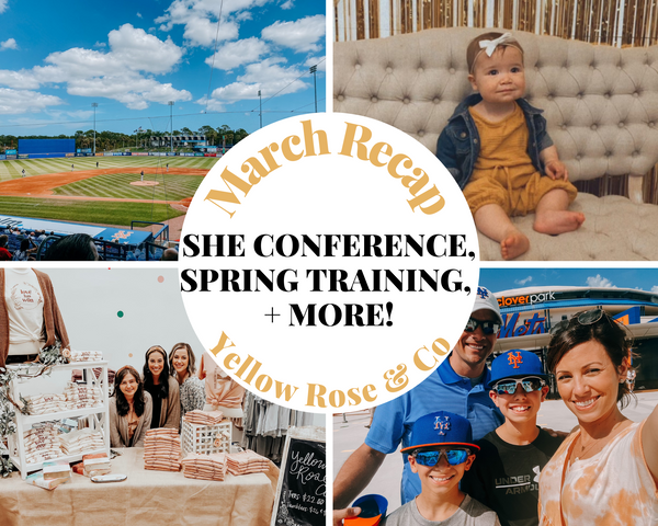 March Recap: Women's Conference, New Collection, & More!