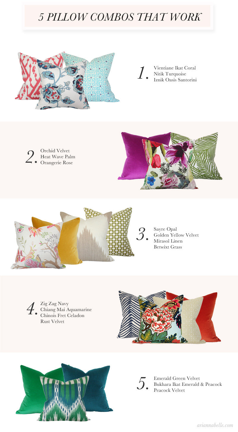 Blog Tagged Pillow Combos Arianna Belle