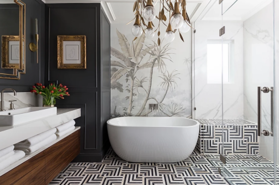 master bath by Veronica Solomon | photography by Colleen Scott