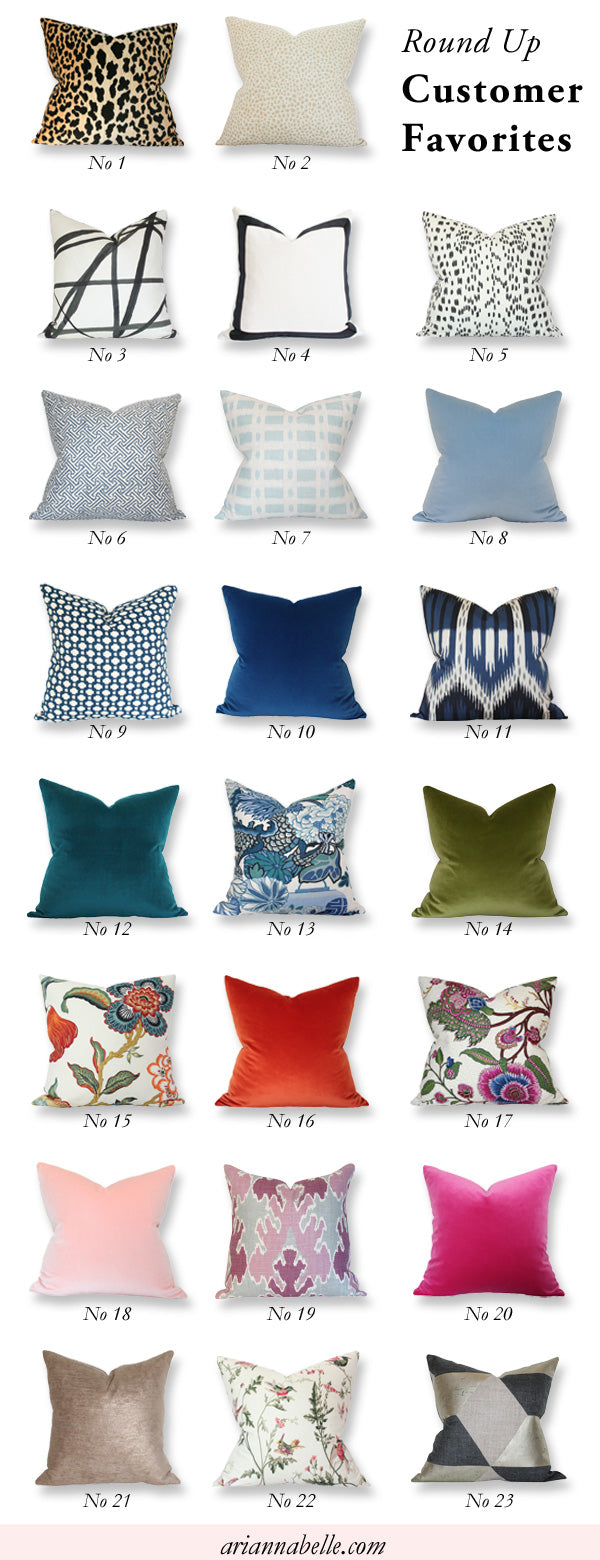 best selling designer pillows