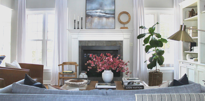 Designer Spotlight Jess Weeth Arianna Belle Blog - fireplace
