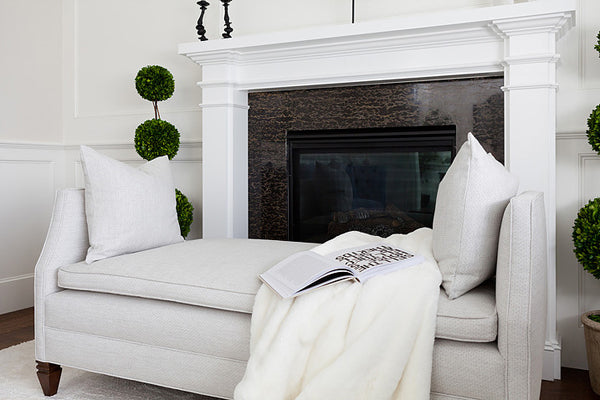 Designer Spotlight: Lucie Ayres | Arianna Belle Blog | Living Room with Fireplace