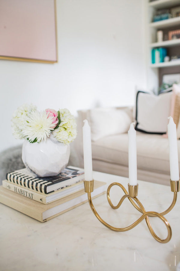interior designer Shannon Claire Smith | decor details pink white | Designer Spotlight series Arianna Belle Blog