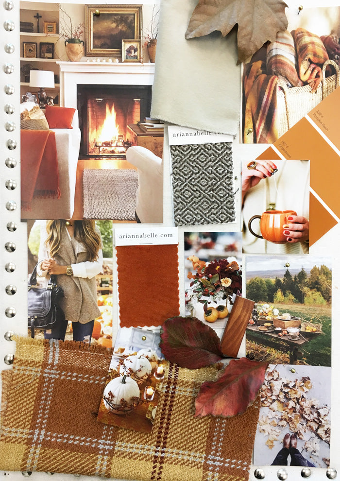 fall inspiration board arianna belle blog