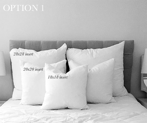 Pillow Size Guide For Full Beds Arianna Belle