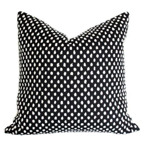 Pebble Onyx Custom Designer Pillow | Arianna Belle