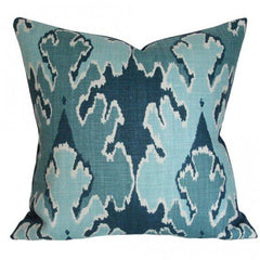 Bengal Bazaar Teal designer pillow from Arianna Belle