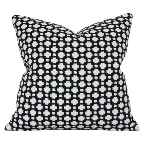 Betwixt Black Custom Designer Pillow | Arianna Belle