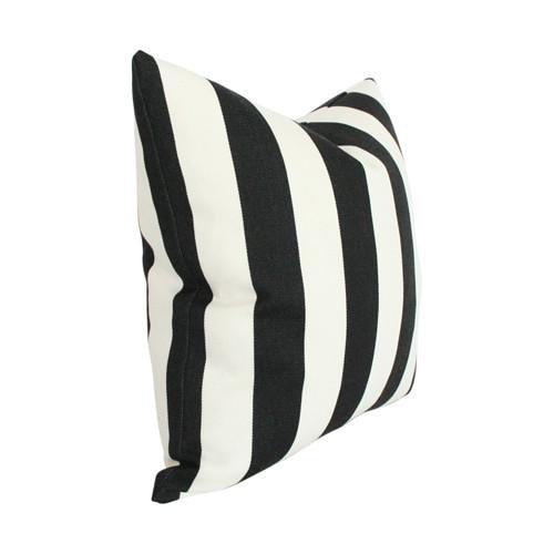 striped black and offwhite