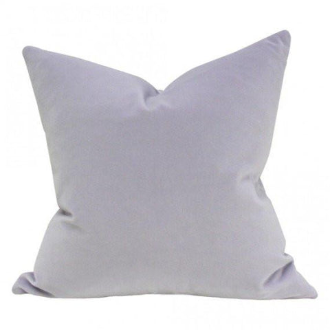 Light Purple Velvet Custom Designer Pillow | Arianna Belle