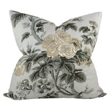 Pyne Hollyhock Grisaille Design A