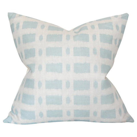 Townline Road Blue Custom Designer Pillow | Arianna Belle