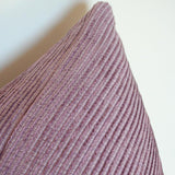 Amethyst Textured Custom Designer Pillow detailed view | Arianna Belle