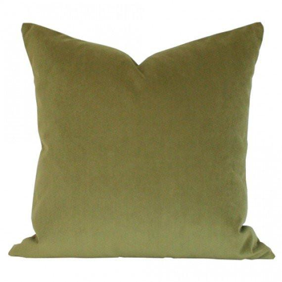 Apple Green Performance Velvet