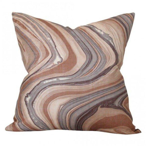 Barcelo Truffle Custom Designer Pillow | Arianna Belle