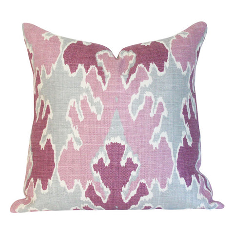 Bengal Bazaar Magenta designer pillow from Arianna Belle Shop