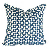 Betwixt Indigo Blue Designer Pillow | Arianna Belle