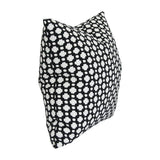 Betwixt Black Custom Designer Pillow side view | Arianna Belle