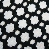 Betwixt Black Custom Designer Pillow detailed view | Arianna Belle