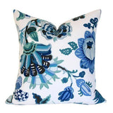 Cambourne Blue Custom Designer Pillow | Arianna Belle