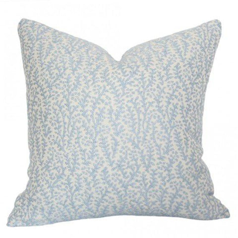 Chay Light Blue Custom Designer Pillow | Arianna Belle