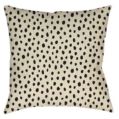 Fauna Flaxseed Designer Pillow