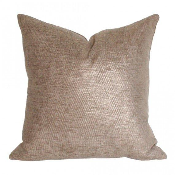 Glimmer Gold Custom Designer Pillow | Arianna Belle