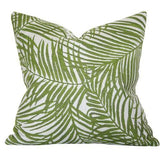 heat wave palm designer pillow