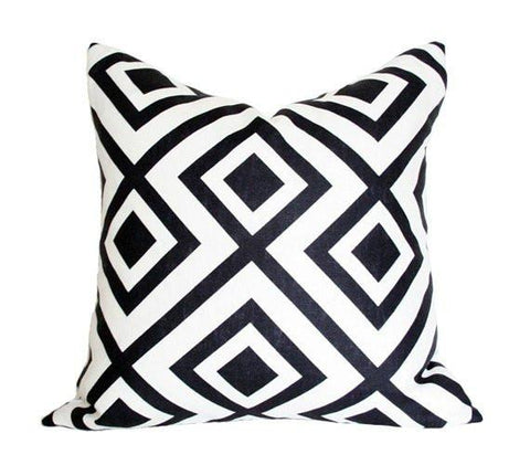 La Fiorentina Black Custom Designer Pillow | Arianna Belle