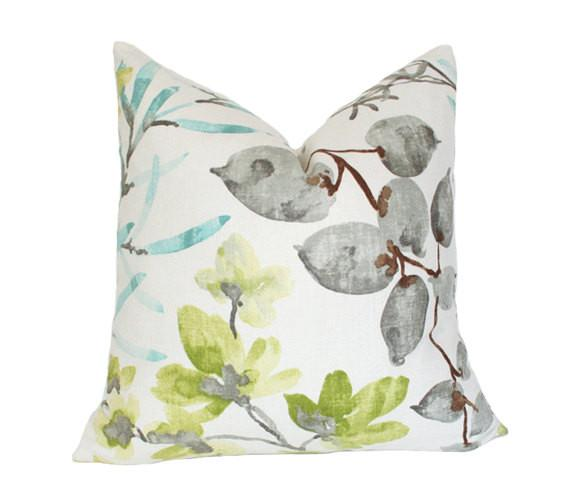 Kudzu Floral pillow cover