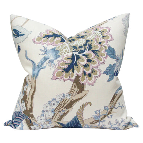 Indian Arbre Hyacinth Custom Designer Pillow | Arianna Belle