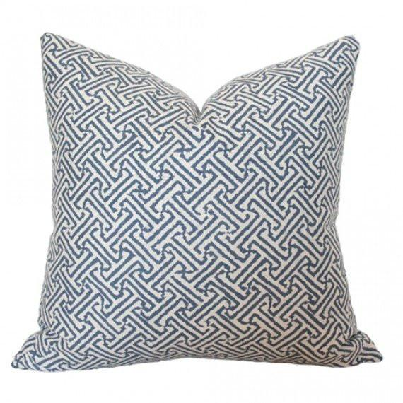 Java Java Navy pillow