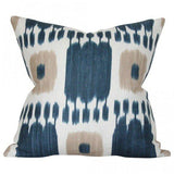 Kandira Indigo Blue Custom Designer Pillow | Arianna Belle