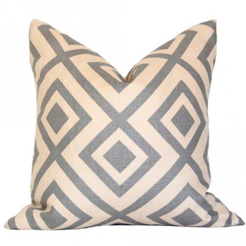 La Fiorentina Grey & Beige pillow
