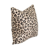 Leopard Linen Pillow