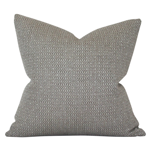 Mamet Pewter Custom Designer Pillow | Arianna Belle