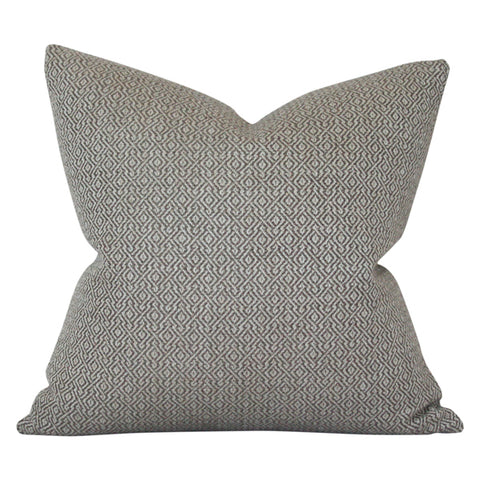 Mamet Pewter Designer Pillow